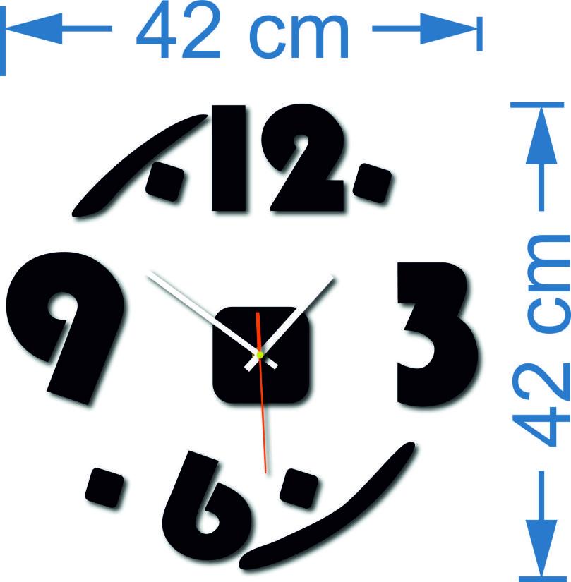 Rozmiar zegara ściany: