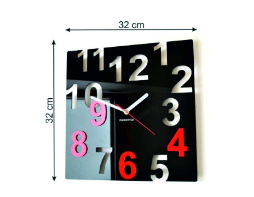Clock size
