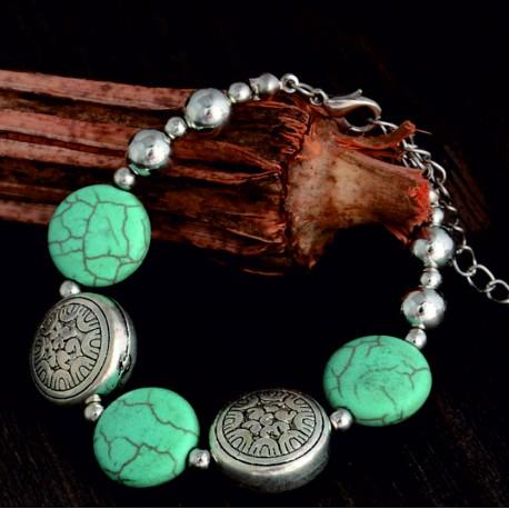 Náramky na ruku, dámske, pánske, s menom, z prírodných kameňou, elegantné, trendy.