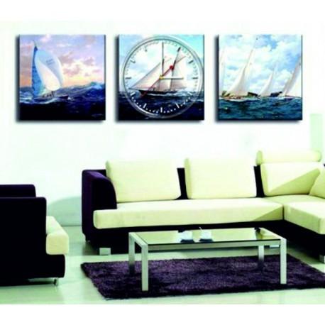 Nástenné hodiny ako obraz