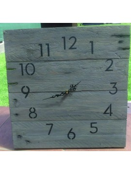 Drevené hodiny na stenu, hodinky drevené ako darček, Hodiny - Handmade bývanie, šperky,