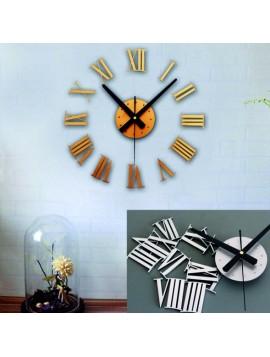 Nalepovacie nástenné hodiny rímske plastové  PMMA, PLEXISKLO GLADORF