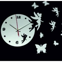 Nástenné hodiny pre deti víla AMALKA