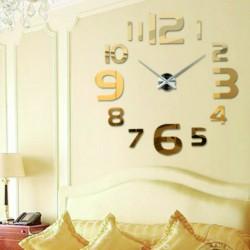 Zlaté nástenné hodiny bohatstva HEUREKLA