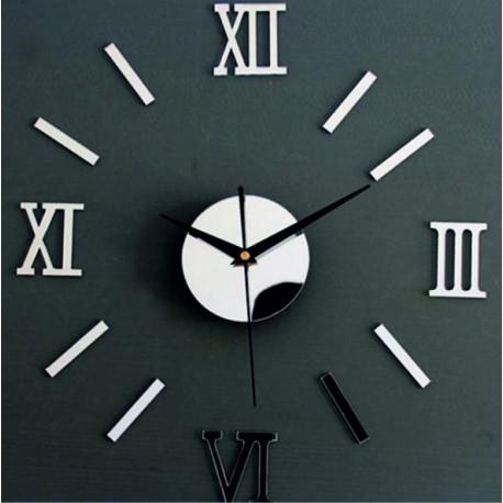 Fantastické zrkadlové hodiny na stenu .
