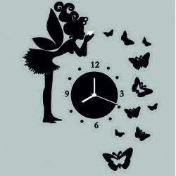Moderné hodiny na stenu DIY  JANKA