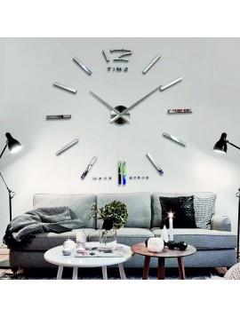 Design nástenné hodiny z plastu. 3D hodiny na stenu.