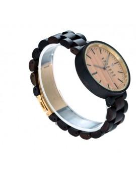READER Náramkové hodinky na ruku drevené VALUNT DH10 hnedé