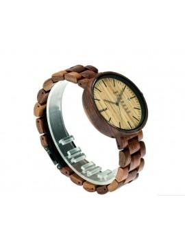 READER  hodinky na ruku drevené LONDON DH010 hnedé