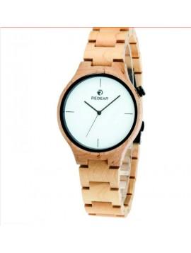 READER Náramkové hodinky drevené DH011 CARY  MAPLE WHITE