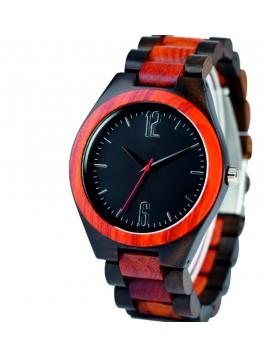 SENTOP Náramkové hodinky na ruku z dreva DH013-2 Dve čísla