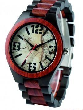 Yisuya Náramkové hodinky Retro DH014 červené