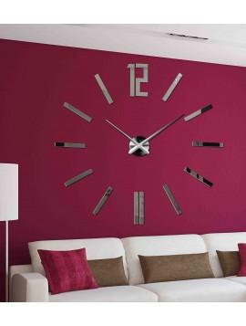Moderné 3D nástenné hodiny do obývačky - ZAHIR