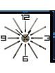 Rozmery nástenných hodín vyrobených z plastu. Trendy hodiny ako obraz.