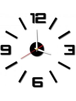 Stylesa Moderné nástenné hodiny do kuchyne BUSTER X0033 aj čierne