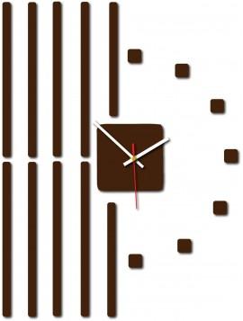 Štýlové 3D nástenné hodiny JATTEL