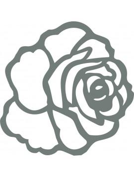 Moderná samolepka na stenu - Ruža