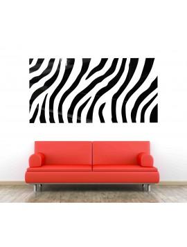 XMOMO Nálepka na stenu ako obraz OX004 červená