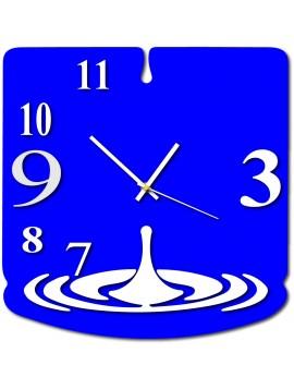 Nástenné hodiny slza luxusné farebné TFINITY