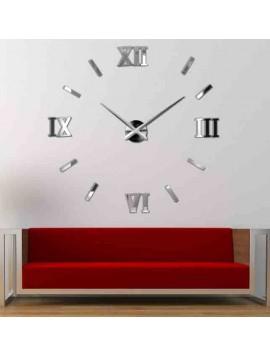 Nástenné nalepovacie hodiny rímske Svet farieb DOROTA