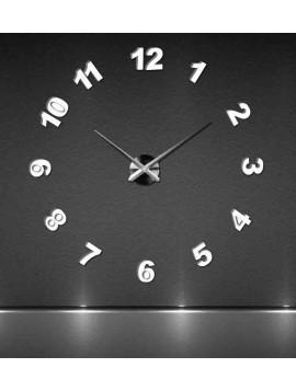 Moderné nástenné hodiny nalepovacie veľké TRINITY