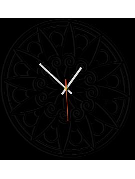 Nástenné hodiny mandala pokoja JANA