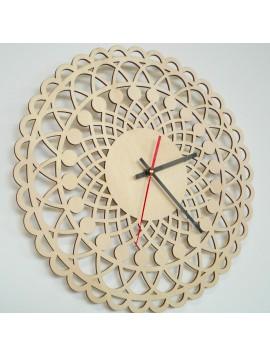 Moderné hodiny na stenu, Nástennée hodiny ako darček, 3D Hodiny mandala.