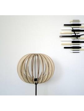 Elegantné stojate svietidlo - farba: svetlá topoľ LEA