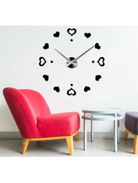 Nástenné  hodiny srdce VELKÉ DIY LENKA