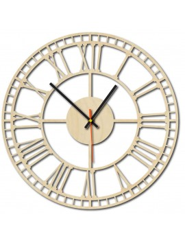 Sentop - Preglejka Rímske drevené hodiny BANA X0068 i čierne