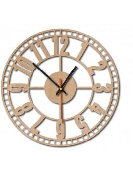 Drevené nástenné hodiny  KUBOTA