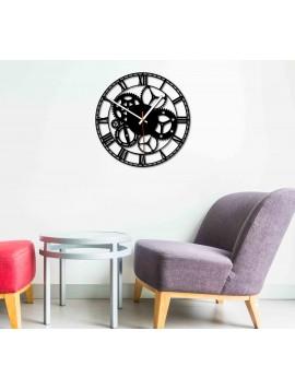 Design nástenné hodiny do obývačky, kuchyne, detskej izby. Hodiny na stenu ako darček.