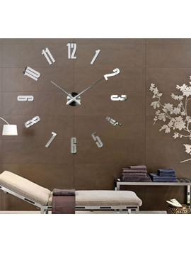 Nalepovacie nástenné hodiny,luxusné hodiny na stentu,plastové hodiny