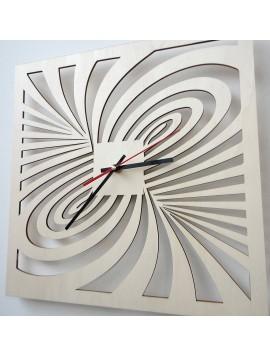 Moderné nástenné hodiny z preglejky AMORI