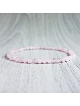 Náramok na ruku - ruženín - Ø FI 4 mm