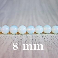 Mesačný kameň (opalit) - korálka minerál - FI 8 mm