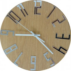 Moderné  hodiny na stenu čísla - FAVI