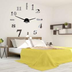 Moderné nástenné hodiny sedem 2D plexi MIRROR