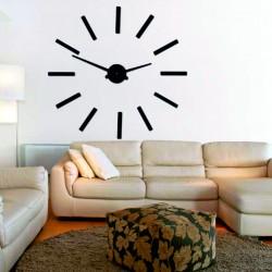 Moderné nástenné hodiny paličky 2D plexi MIRROR