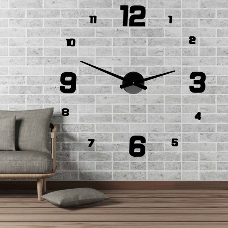 Moderné nástenné hodiny JOLYI FOX Plexi