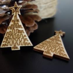 Ozdoby na vianočný stromček, rozmer: 57x39 mm