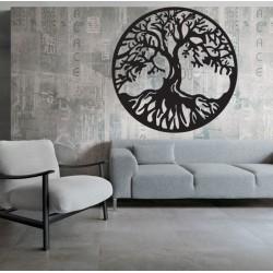 Drevená dekorácia strom života POHODA