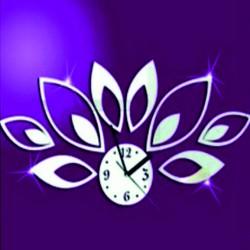 Nástenné hodiny nalepovacie na stenu MIRKA