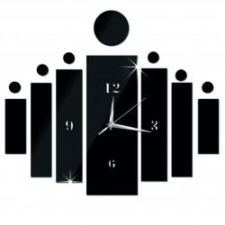 Nástenné hodiny nalepovacie ako darček DIY HOJOKER