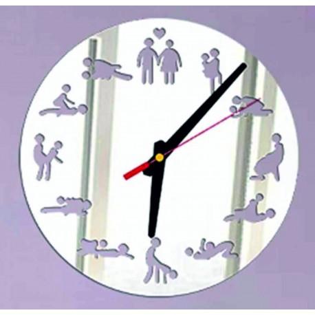 Moderné nástenné hodiny ( hodiny na stenu ) KAMASUTRA