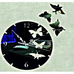 Motýľ nástenné hodiny ( motýľ hodiny na stenu ) DIANA