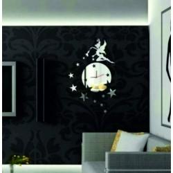 Nástenné hodiny zrkadlové ( zrkadlové hodiny na stenu ) DAVIN, 35x45 cm