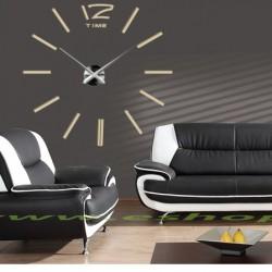 Moderné hodiny na stenu nalepovacie nástenné hodiny dvanásť DIY JUBINALE