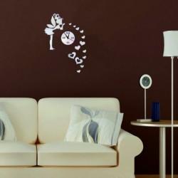 Nástenné hodiny do detskej izby Víla lásky, 40x70 cm