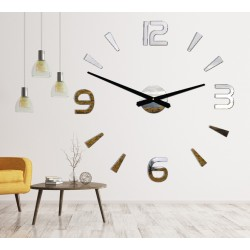 Moderné nástenne hodiny nalepovacie Stor  2D plexi